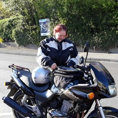 Motorrad-Lady